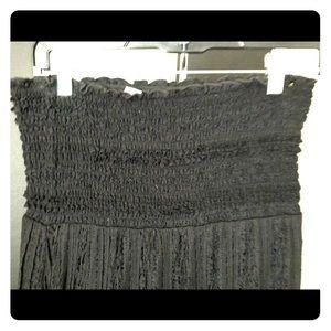Xhileration Black Maxi Dress M